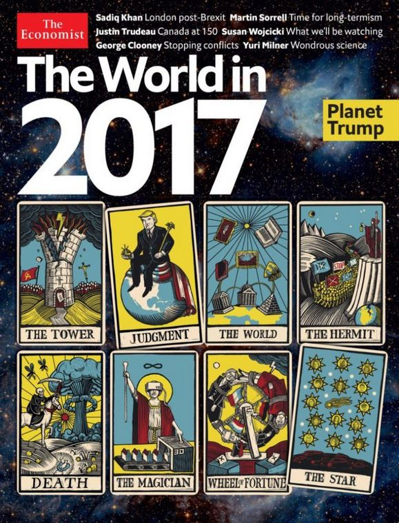 "What Does the Menacing Tarot Spread from the Economist ""World in"
